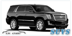 SUV for hire in Salt Lake City