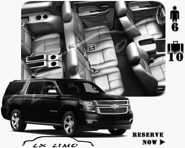 SUV Suburban for hire in Salt Lake City